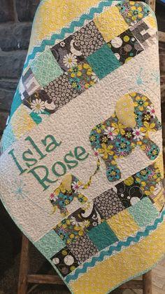 Personalized Modern Handmade Baby Quilt for Sale Custom Baby Heirloom Elephant Nursery Blanket Modern Baby Quilt Baby Blanket Elephant Nursery Girl, Quilted Baby Blanket, Quilt Baby, Giraffe Blanket, Handmade Baby Quilts, Baby Quilt Patterns, Quilts For Sale, Baby Girl Blankets, Custom Quilts