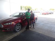 Donta Gee and the rest of us here at Court Street Ford would like to congratulate Lisa Bhatnager of Skokie on the purchase of her 2015 Ford Fusion.  Thank you for your business Lisa!