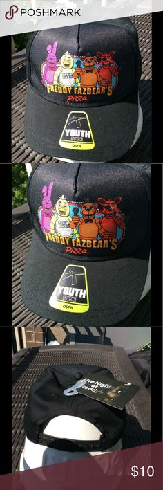 Five Nights at Freddy's Youth SnapBack Hat NWT NWT Five Nights at Freddy's baseball SnapBack Hat. Kids love ❤️ Five Nights at Freddys Accessories Hats