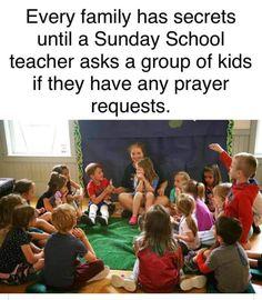 Christian Jokes, Sunday School Teacher, Biblical Inspiration, School Humor, Prayer Request, Words Quotes, Prayers, Bible, Teaching
