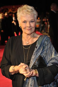 Dame Judi Dench. The first time I saw her was in Shakespeare live ,she captivates her audience.