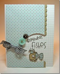 Another adorable card by Karolyn using PaperSmooches stamps...
