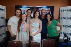 EW Radio - cast of Outlander at Comic Con