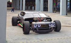 rat rod #diesel #trucks Custom Garages, Custom Cars, Rat Rod Cars, Rat Rods, Lamborghini Espada, Porsche 911 Targa, Unique Cars, Dodge Challenger, Dodge Charger