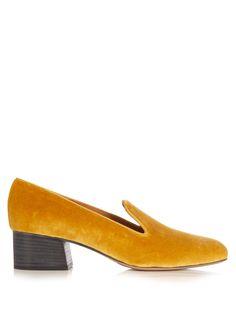 Kingsley velvet loafers | Chloé | MATCHESFASHION.COM US