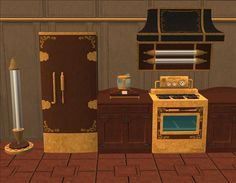 Steampunk Kitchen - In the City in the Rain