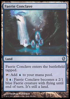 Faerie Conclave (Commander 2013 Edition) | PucaTrade - Trade Magic: The Gathering Cards Online