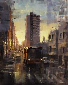 Looks Dark, Mug Art, Process Art, City Art, Artist Painting, Urban Art, Impressionism, Insta Art, Photo Art