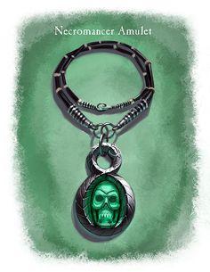 Amulet Necromancer, Ray Lederer