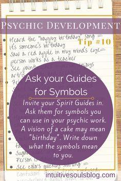 Psychic development tip
