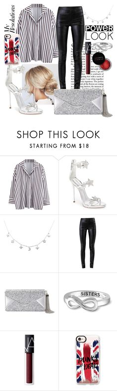 """#PolyPresents: New Year's Resolutions"" by tessa-everdeen ❤ liked on Polyvore featuring Giuseppe Zanotti, Helmut Lang, BCBGMAXAZRIA, Jewelonfire, Concrete Minerals, NARS Cosmetics, Casetify, contestentry and polyPresents"