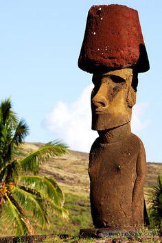 Moai. Isla de Pascua...Chile