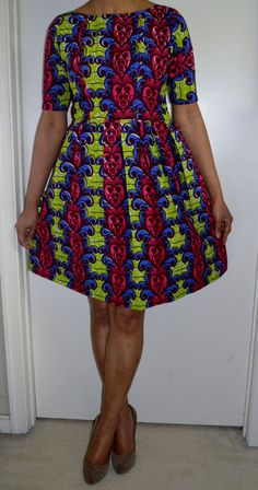 Have made with a boatneck listing at https://www.etsy.com/listing/223437250/bela-ankara-dress-african-print-dress