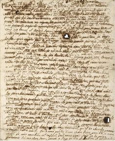 This is the last letter of Marie Antoinette, written in the early morning hours of October 16th on the day of her execution. After her trial concluded she was brought back to her cell in the Conciergerie and penned this tear stained letter to her sister in law, Madame Elisabeth. It would never reach its' intended recipient.