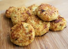 Cauliflower and Cheese Bites the perfect finger food for your weaning baby