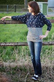 Freebook Juliii Babyschuh Fabrik Fledermausshirt