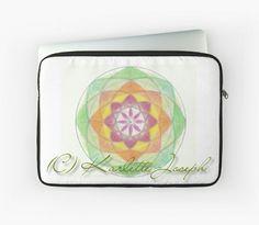 Heart Chakra Mandala Laptop Sleeve  http://www.redbubble.com/people/karlettejoseph/works/22758994-heart-chakra-mandala?p=laptop-sleeve&rel=carousel  #mandala #laptopcover #laptopsleeve #art #heart chakra