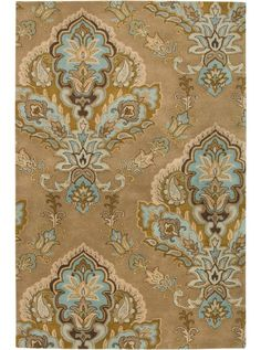 This Volare Collection earth tone rug (VO1683) is manufactured by Rizzy Rugs. Everything from strictly traditional to absolutely contemporary, the Volare collection is an assortment of rugs that can satisfy every aspect of modern interior design.