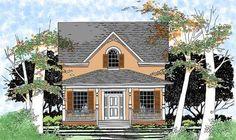 Plan 31059D: Attractive Cozy Cottage