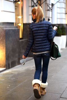 Comfy outfit for winter