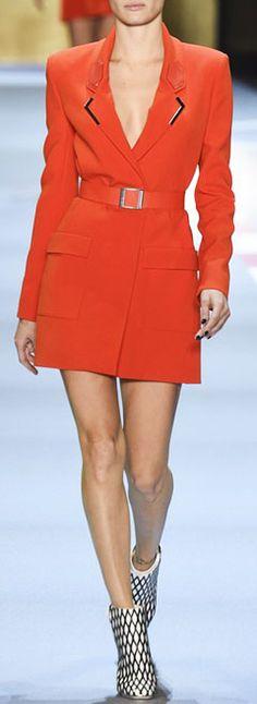 "LOVIKA SS16 Trend Highlight: ""Power Blazer""   Mugler Spring Summer Ready-to-Wear Collection"