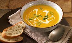 Möhren-Ingwer-Suppe Rezept   Dr. Oetker