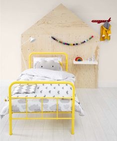 Rory - Single Bed - Yellow - Toddler | Kids Beds - Mamas & Papas