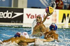 Montenegro beat Italy in FINA World Championship waterpolo by Claudio Perrone. August 1st 2013, Barcelona. http://www.demotix.com/photo/2323307/montenegro-beat-italy-fina-world-championship-waterpolo-barcelona=1