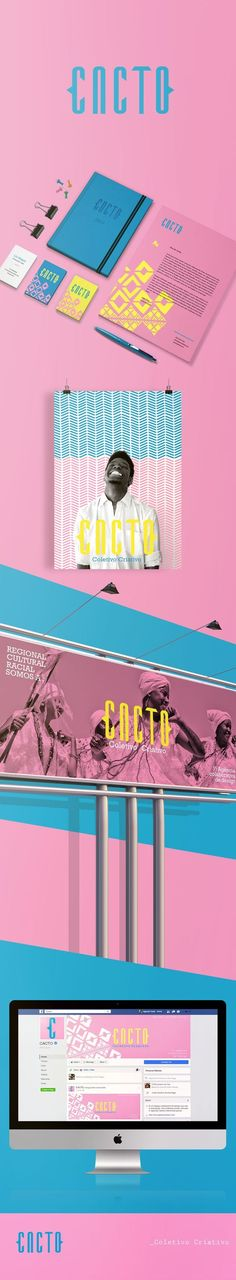 Cacto Collective Creative Branding by Taciele Santos | Fivestar Branding Agency – Design and Branding Agency & Curated Inspiration Gallery