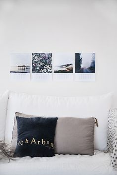 Calendar with pictures from my Instagram - diy inspiration