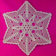 Scalloped Doily - A free Crochet pattern from Julie A Bolduc.
