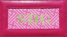 Raspberry & pink Chinoiserie box top