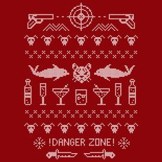 STERLING ARCHER Danger Zone President 2016 Men's T-Shirt Size ...