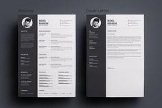 Resume/CV by deviserpark on @creativemarket #resume #template #resumetemplate #indesign #photoshop #illustrator #cv #cvtemplate