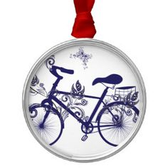 Bicycle and Floral Ornament 5