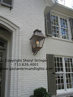 Sheryl's Extra Large Veronica Style Gas Lantern traditional-lighting