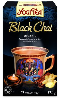 Yogi Tea Black Chai 17 Teabags