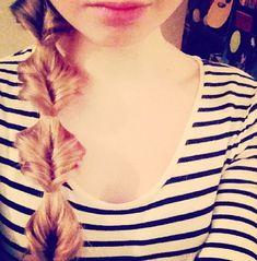 Fish tail braid:)