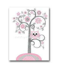 Digital Download Print Baby Shower Decor Tree by nataeradownload