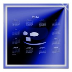 Smile Everyday 2014 Wall Calendar Posters Design from Calendars by Janz