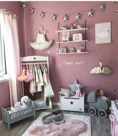 Teen Girl Bedrooms Amazing teen girl room examples to produce that satisfying room ideas for teen girls hipster Room Decor idea number 9044429376 shared on 20190102 Teen Girl Bedrooms, Little Girl Rooms, Baby Bedroom, Room Decor Bedroom, Ideas De Closets, Deco Kids, Baby Room Colors, Girl Nursery, Baby Toys