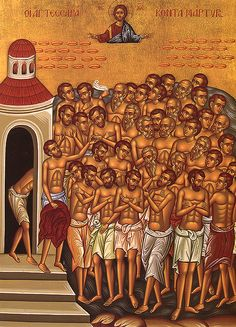 Telling The Stories That Matter: March 9 - Forty Martyrs of Sebaste