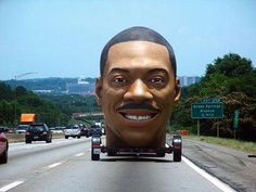 Eddie Murphy head trailer