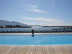 Pool view@Marseille_Oct 2007 Scenery, Beach, Places, Water, Outdoor Decor, Photos, Home Decor, Marseille, Gripe Water
