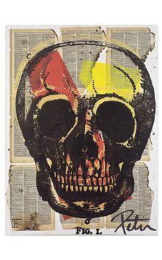 Skull Print $1000 by Peter Tunney.  I loves!