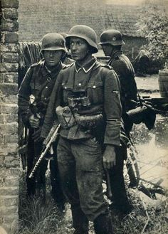 Waffen SS in the West, 1940
