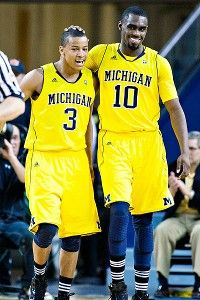 Go Blue! Let the madness begin! Trey Burke and Tim Hardaway, Jr. make for one intimidating backcourt