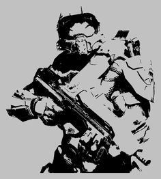 Chief Stencil -Tim Noakes