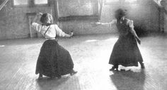 Women's Fencing in 1909 -that's a thought.i should fence in my abaya!