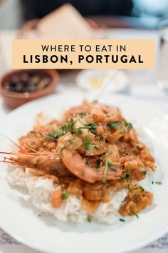 Where to eat in Lisbon Portugal. The best restaurants featuring Portuguese food seafood all day breakfast all natural gelato and more! Portugal Travel, Lisbon Portugal, Portugal Trip, Belem, Lisbon Food, Portuguese Recipes, Portuguese Food, Best Coffee Shop, Porto